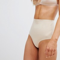 Pour Moi Definitions Shaping Control Thong at asos.com