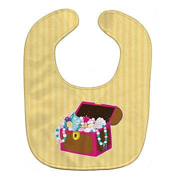 Beach Pirate Chest Baby Bib BB8837BIB