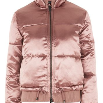 Quilted Puffer Jacket | Topshop