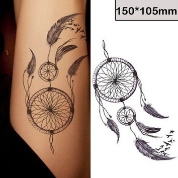 Fashion Waterproof Tattoo-the Personalized and Fashionable Dreamcatcher Tattoo Stickers