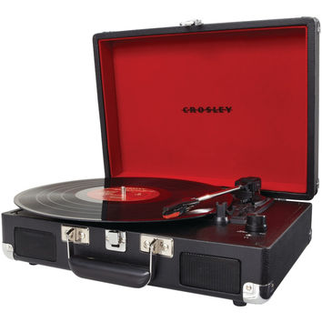 Crosley Radio Cruiser Portable Turntable (black)