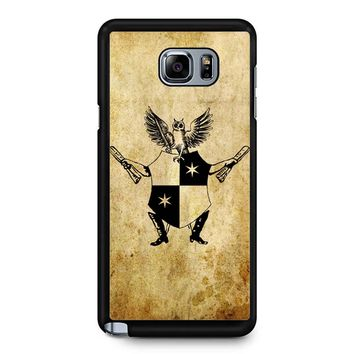 Daily Prophet Harry Potter Logo Samsung Galaxy Note 5 Case
