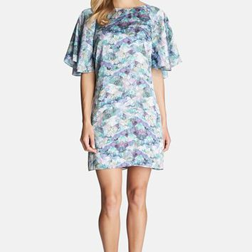 Women's CeCe by Cynthia Steffe 'Crystal Harmonies' Print Shift Dress,