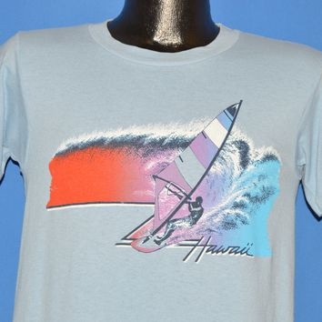 80s Hawaii Wind Surfing Sunset t-shirt Medium