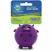 Busy Buddy Treat Dispensing Cow-Wow Dog Toy - Free Shipping
