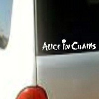 Alice n Chains Metal Music Rock Band Funny  Vinyl Sticker Decal Car Window Wall