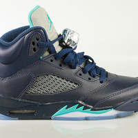 Air Jordan Big Kid's 5 V GS Retro Hornets