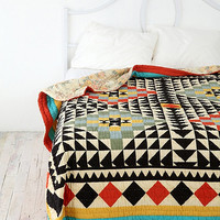 Reversible Kaleidoscope Quilt - Urban Outfitters