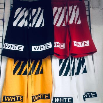 DCCK2 1076 off-white Terry shorts
