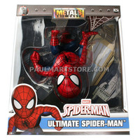"Jada Diecast Metal Spiderman 6"" M256 Spiderman Figure"