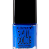 Shocking Cobalt Nail Polish