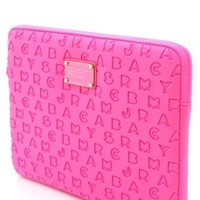 "Marc by Marc Jacobs Dreamy Logo Neoprene 13"" Computer Case 