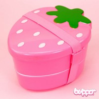 Strawberry Bento Box - Pink / Style 1