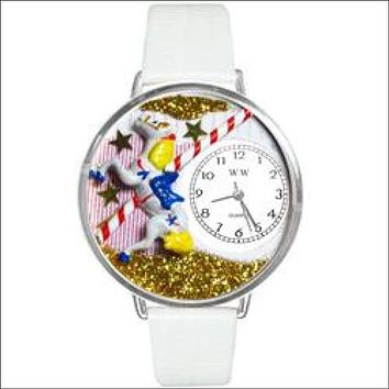 Carousel Watch in Silver (Large)