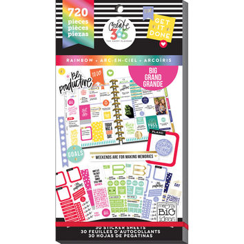Create 365™ The Big Happy Planner™ Rainbow Value Pack Stickers