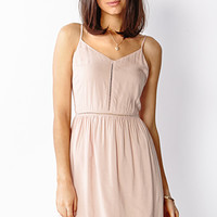 LOVE 21 Prairie Nights Dress Blush