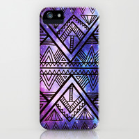 Ancient Galaxy iPhone & iPod Case by Erin Jordan