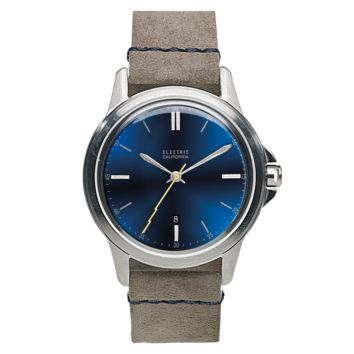 Electric - Carroway Leather Blue / Grey Watch