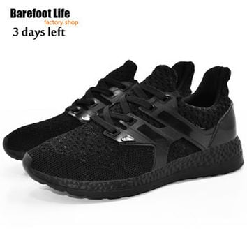 barefoot life red sneakers woman and man,sport running,athletic outdoor walking,breathable comfortable shoes