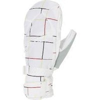 Burton Gore-Tex Under Snowboard Mitts White Grid - Women's