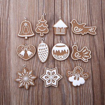 11-piece Polymer Clay for Christmas Tree Ornaments 🎄