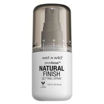 Wet n Wild Photofocus Natural Finish Setting Spray - 1.52 fl oz