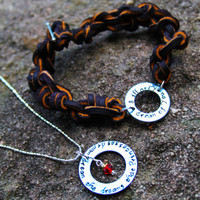Couples Necklace and Bracelet - His and Her's Jewelry - Dream the Dreams
