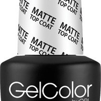 OPI GelColor - Matte Top Coat 0.5 oz - #GC031