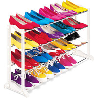 Walmart: Mainstays 4-Tier Shoe Rack
