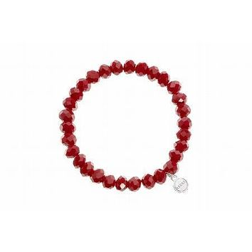 Clarksville Red Rose Bracelet