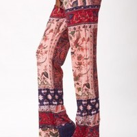 SCARF SLOUCH PANT