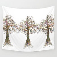 Tree Wall Tapestry by J.Lauren