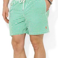 Polo Ralph Lauren Traveler Checked Swim Shorts