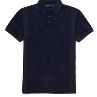 Etro - Paisley-Print Cotton-Piqué Polo Shirt | MR PORTER