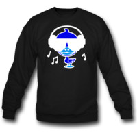 duck music sweatshirt