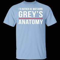 Rather Be Watching Grey's Anatomy T-Shirt