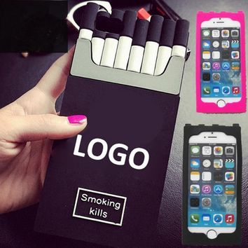IPhone6 mobile phone shell cigarette box 6plus mobile phone apple 5SE silica gel 4S protective sleeve