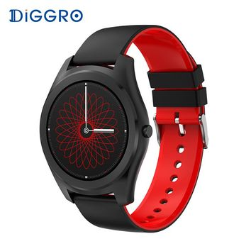 Diggro DI03 Smartwatch IP67 Fitness Tracker Heart Rate Monitor Pedometer Bluetooth Smart Watch Sleep Monitor for Android & IOS