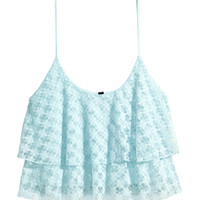 H&M Tiered Lace Camisole Top $17.95