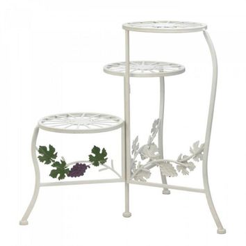 GrapeVine 3-Tier Plant Stand