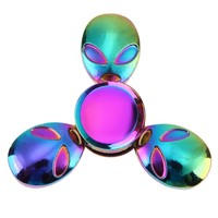Rainbow Fidget Spinner- Alien