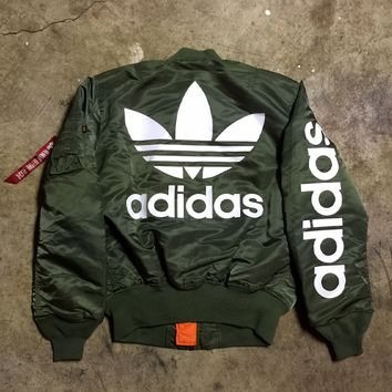 The 1988 Alpha Industries MA-1 Bomber Jacket (sage)