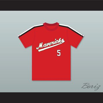 Reggie Thomas 5 Portland Mavericks Baseball Jersey The Battered Bastards of Baseball