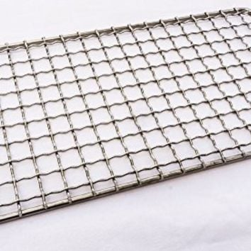 Bushcraft Grill - Welded Stainless Steel High Strength Mesh (Campfire Rated) - Expedition Research LLC, FL USA