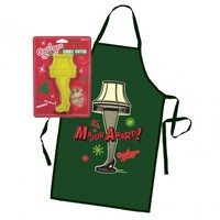 A Christmas Story Apron and Cookie Cutter Set