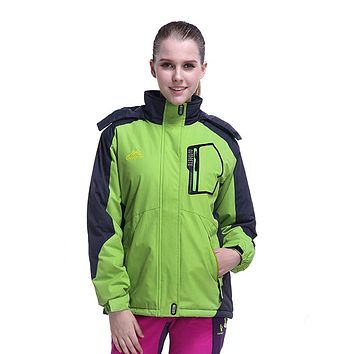 Women's Winter Fleece Jackets Outdoor Sports Thermal Waterproof Coats Hiking Camping Trekking Climbing Skiing Windbreaker