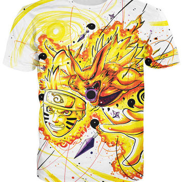 Naruto Kyubi Mode T-Shirt