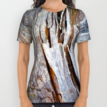 Relic of the Forest All Over Print Shirt by Heidi Haakenson