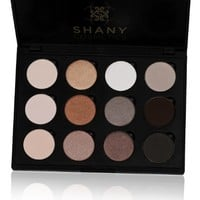SHANY Everyday Natural Look Eyeshadow Palette (12 Colors Eyeshadow Palette, Large Pan Size, Limited), 9 Ounce