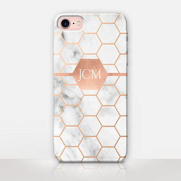 Personalised Marble Phone Case For- iPhone 7 Case - iPhone 7 Plus Case - iPhone SE Case - iPhone 6S case - iPhone 6 case - iPhone 5 Case